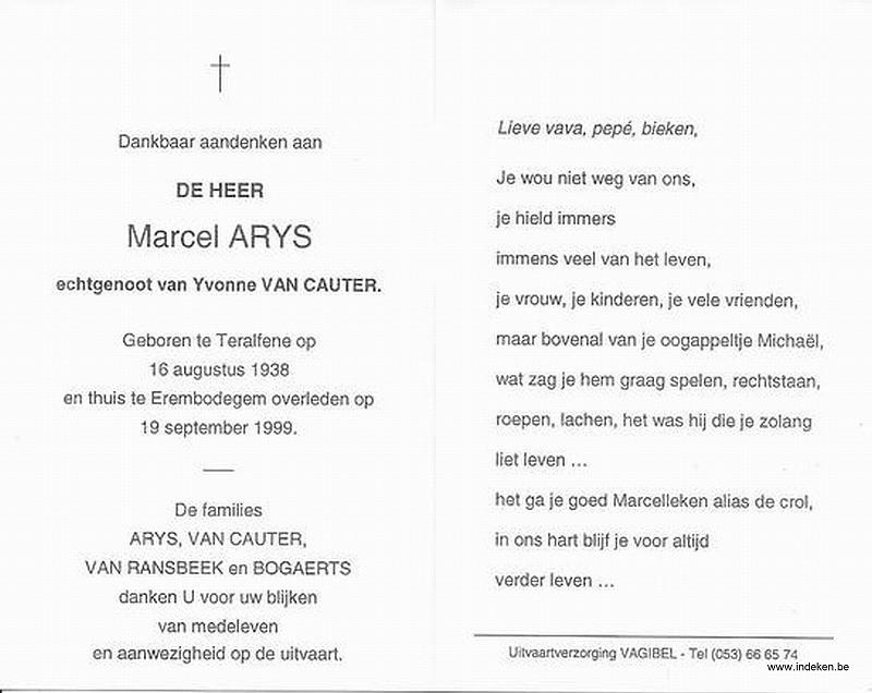 Marcel Arys