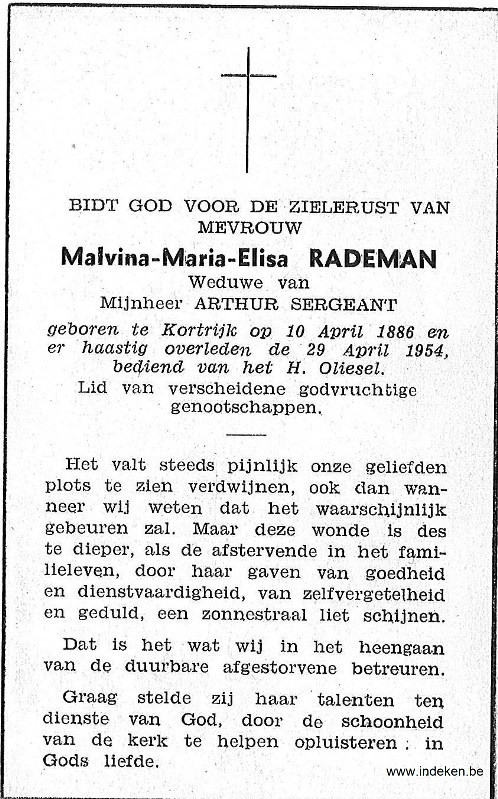 Mavina Maria Elisa Rademan