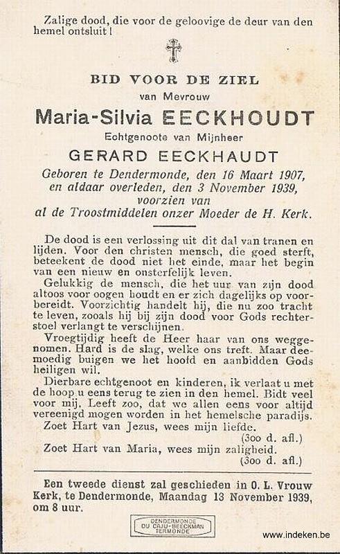 Maria Sylvia Eeckhoudt