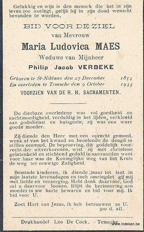 Maria Ludovica Maes