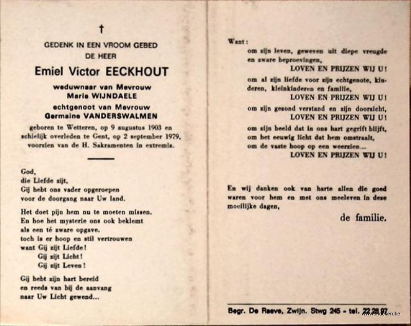Emiel Victor Eeckhout