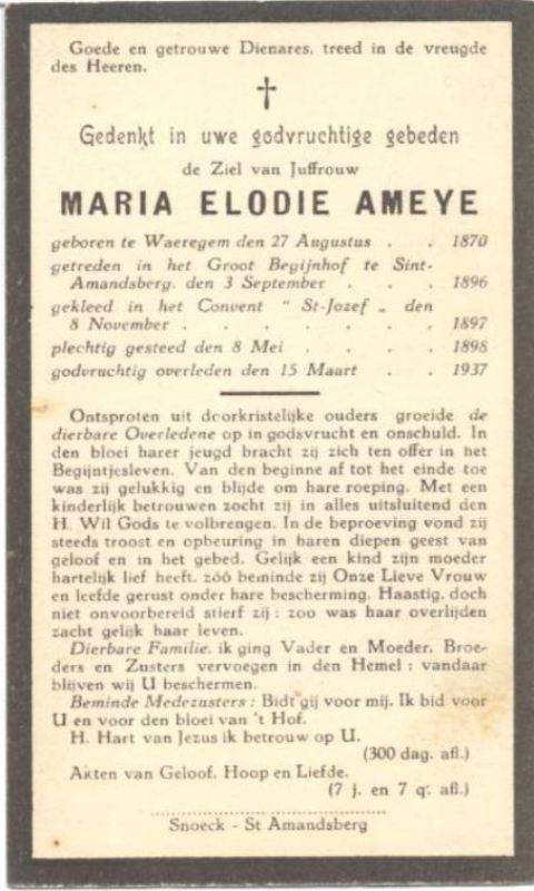 Virginia Maria Elodia Ameye