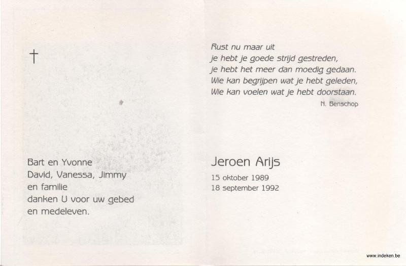 Jeroen Arijs
