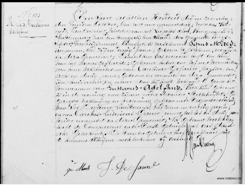 Gustavus Adolphus Maes