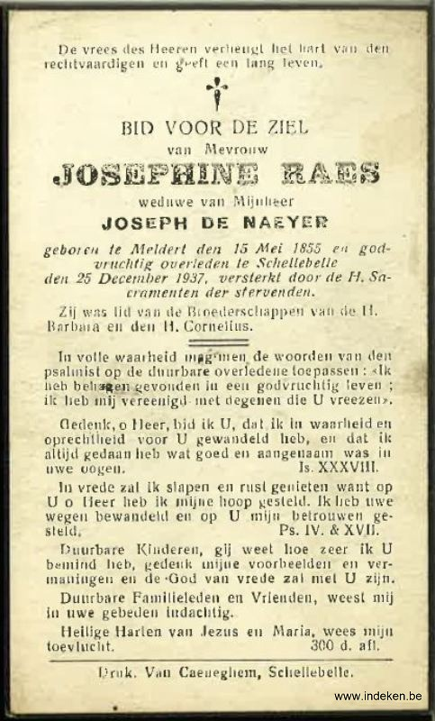 Maria Josephina Raes