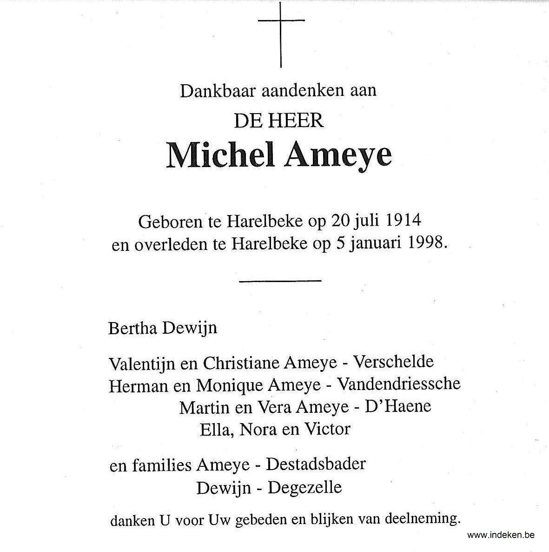 Michel Ameye