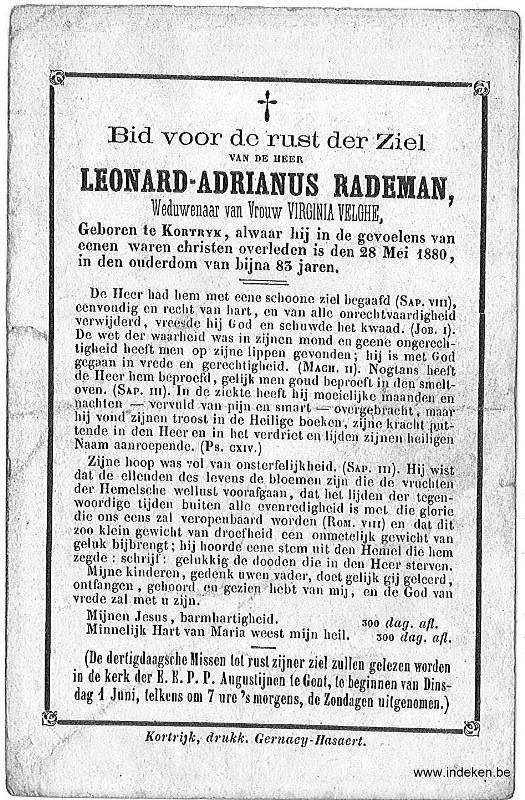 Leonard Adrianus Rademan
