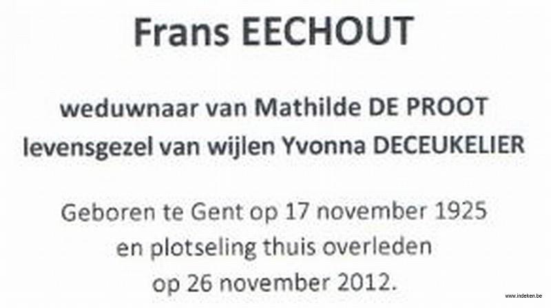 Frans Eechout