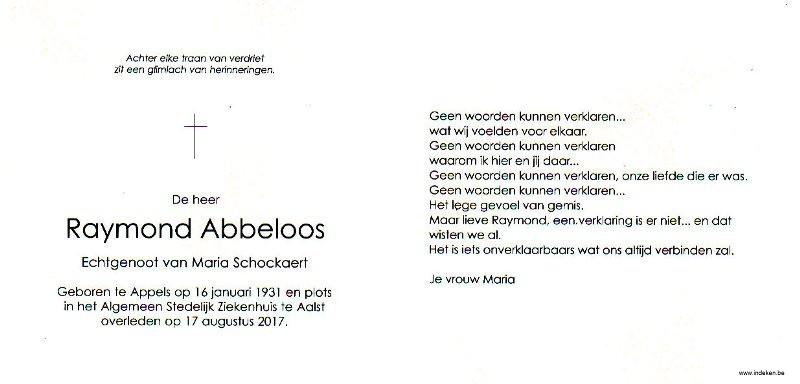 Raymond Abbeloos
