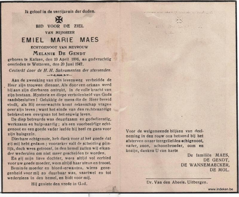 Emiel Marie Maes
