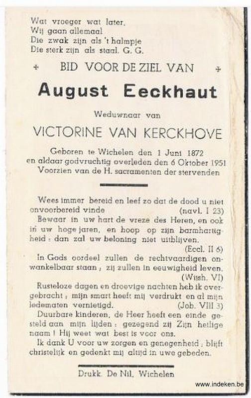 August Eeckhaut