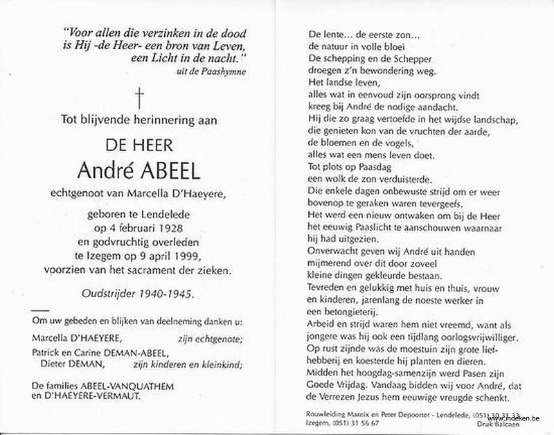 Andre Abeel