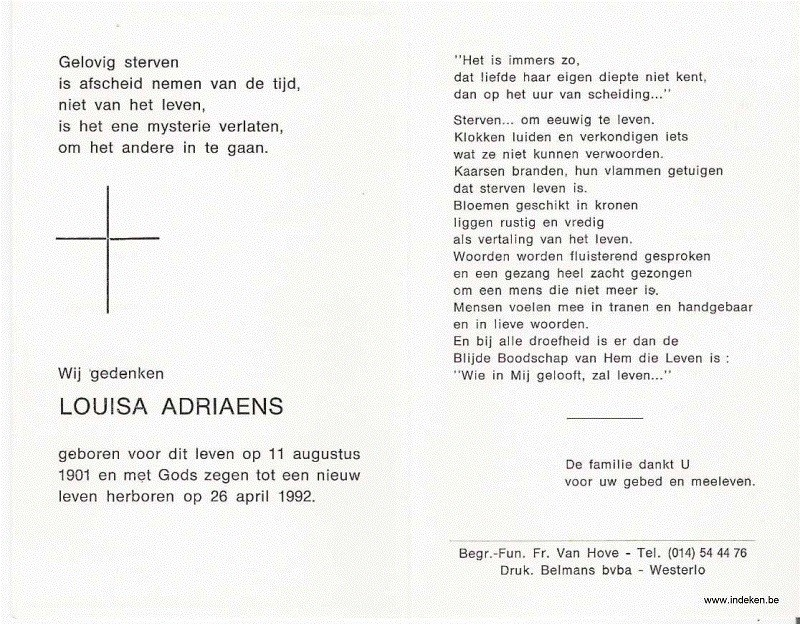 Louisa Adriaens
