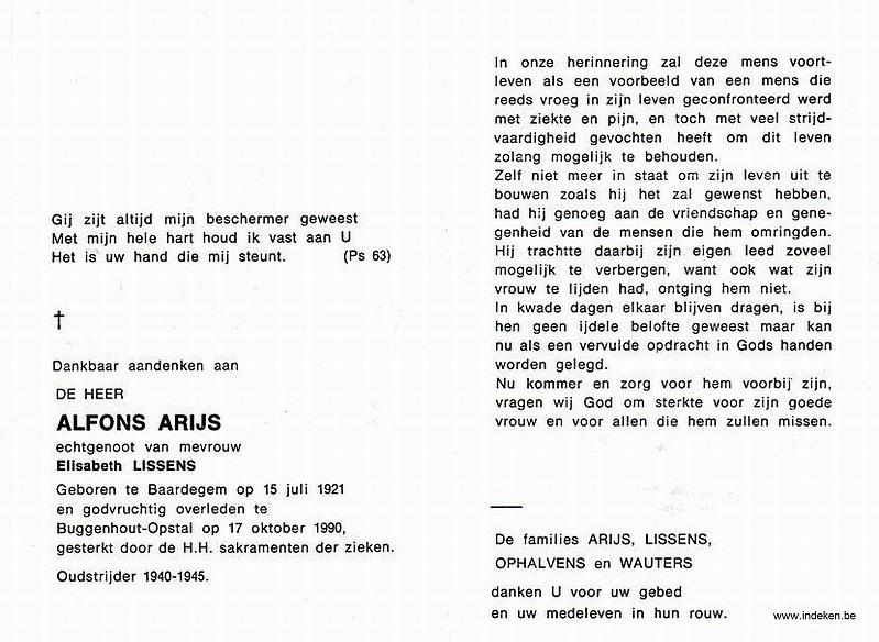 Alfons Arijs