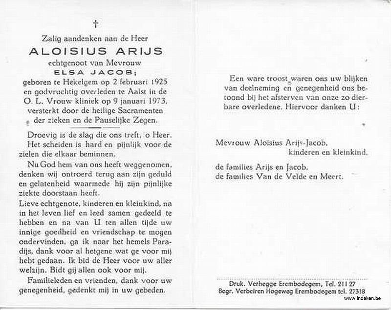 Aloisius Arijs