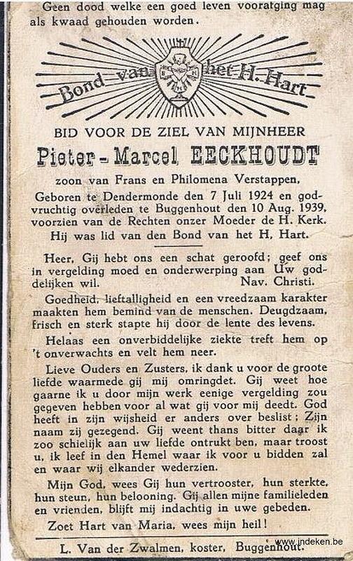 Pieter Marcel Eeckhoudt