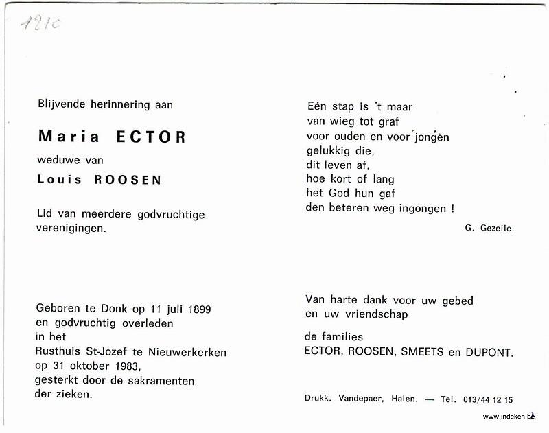 Maria Ector