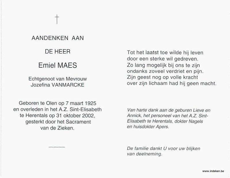 Emiel Maes