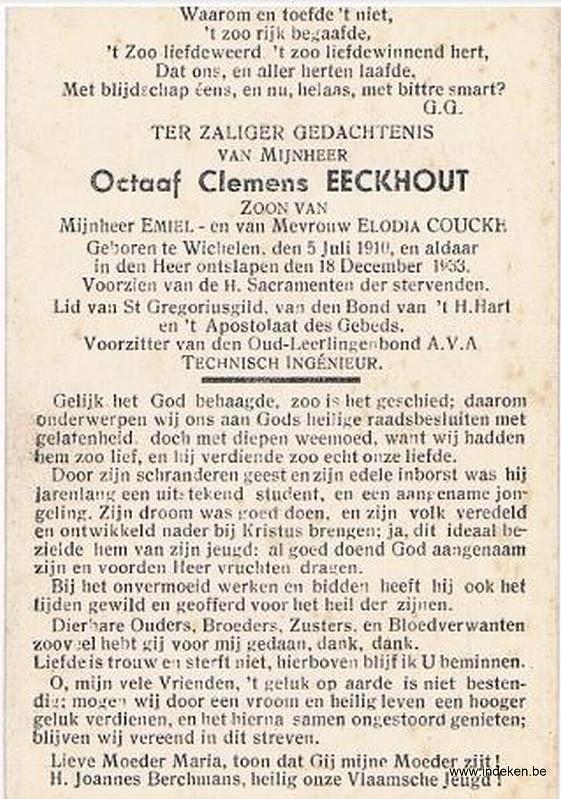 Octaaf Clemens Eeckhout