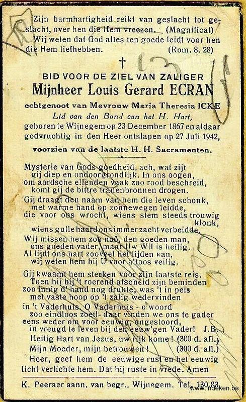Gerardus Ludovicus Ecran