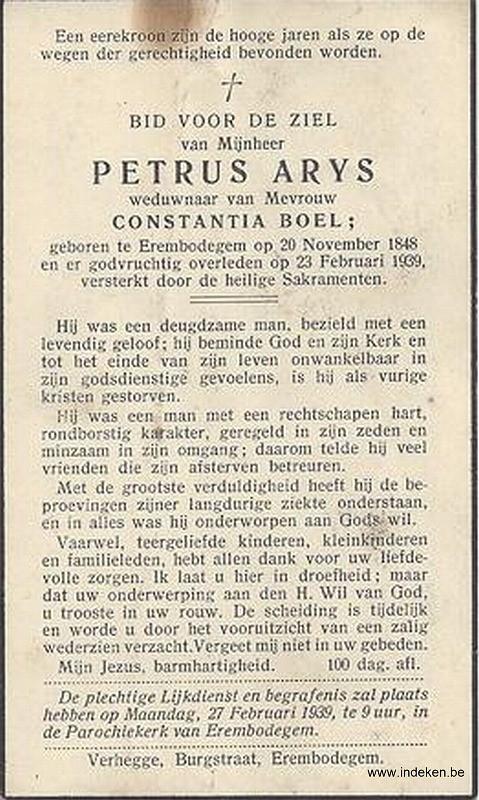 Petrus Arys