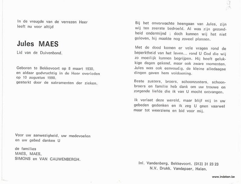 Jules Maes