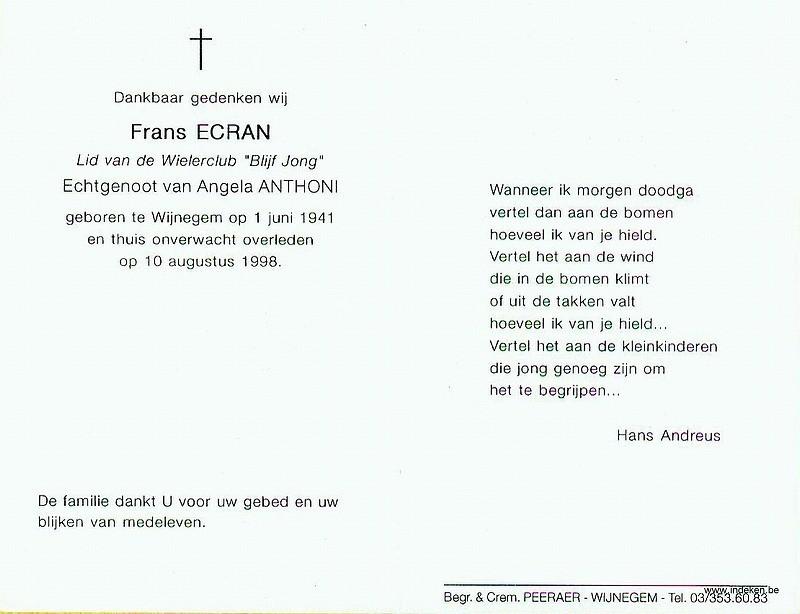 Frans Ecran
