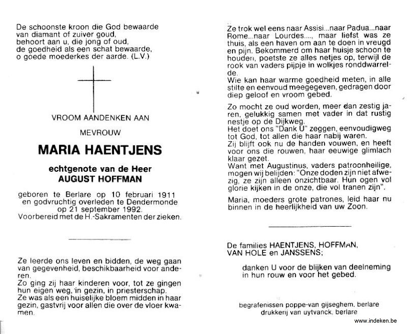 Maria Haentjens