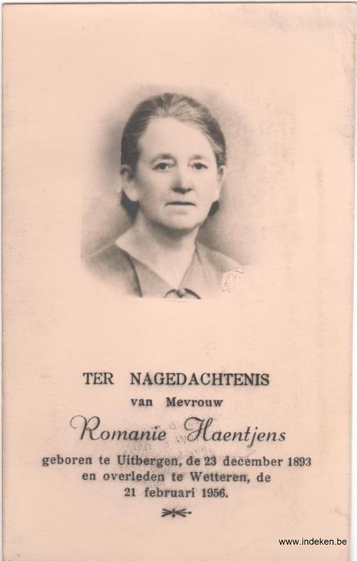 Romanie Marie Haentjens