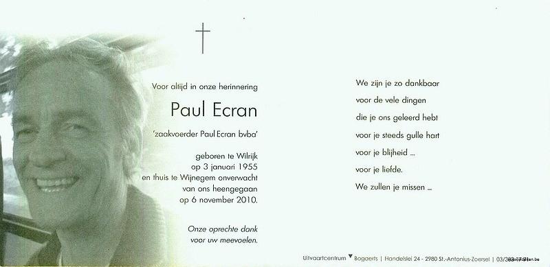 Paul Ecran