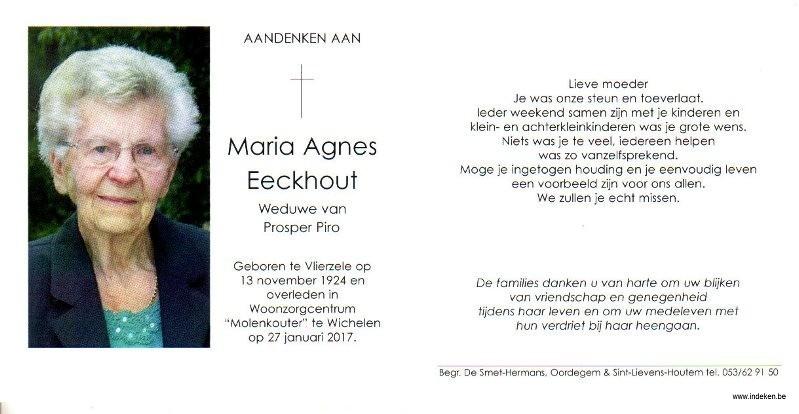 Maria Agnes Eeckhout