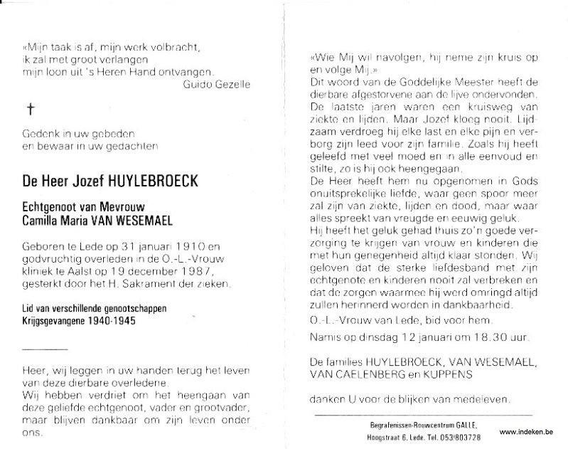 Josephus Huylebroeck
