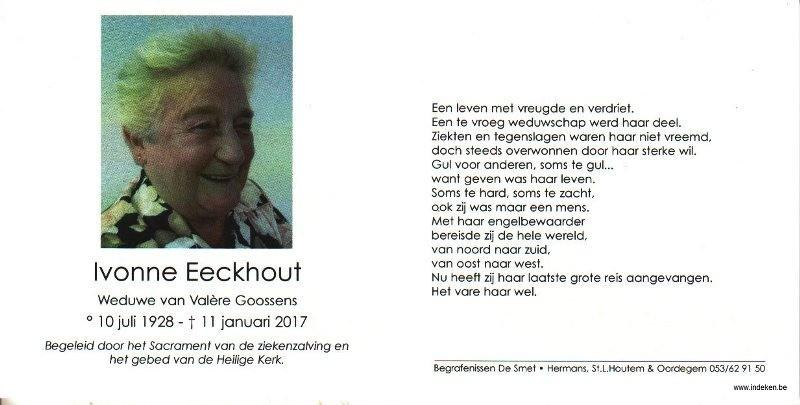 Ivonne Eeckhout