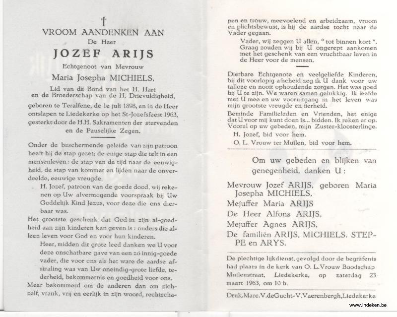 Jozephus Arijs