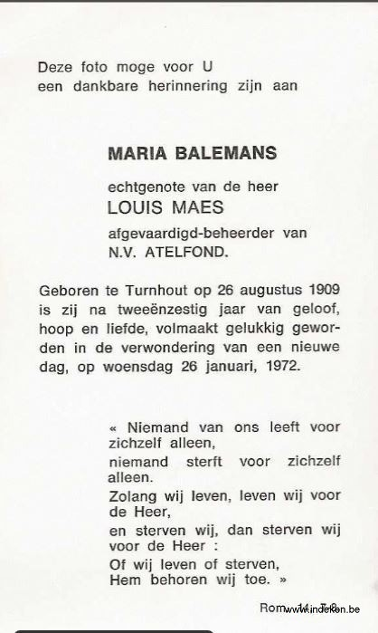 Maria Justina Balemans