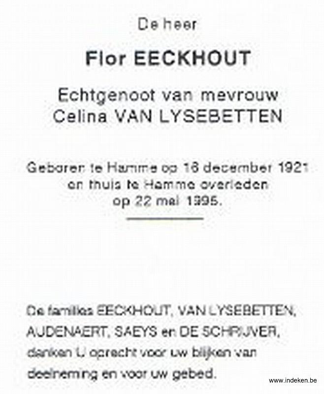Flor Eeckhout