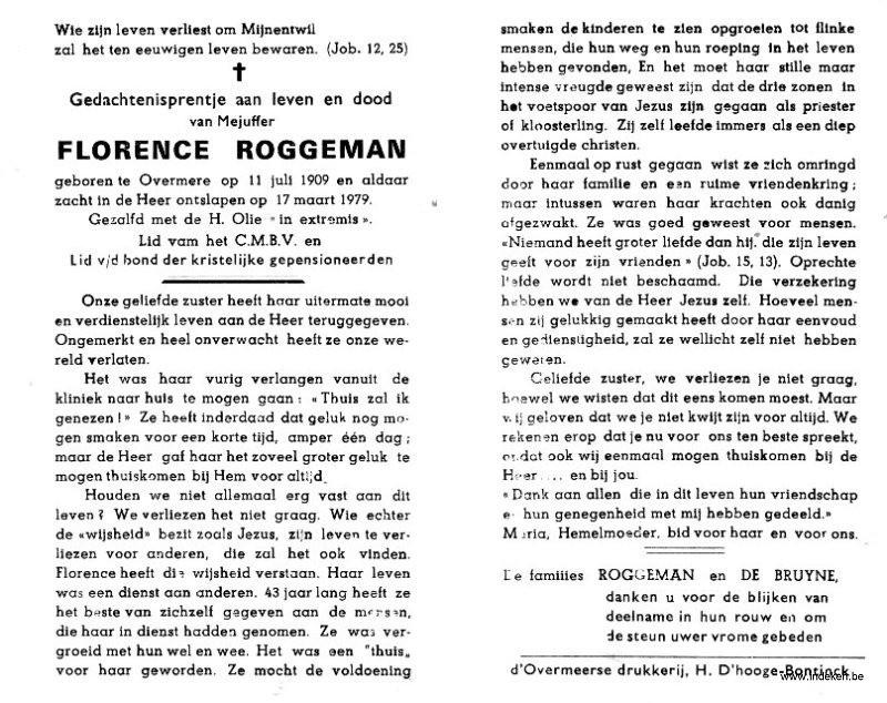 Florentia Roggeman