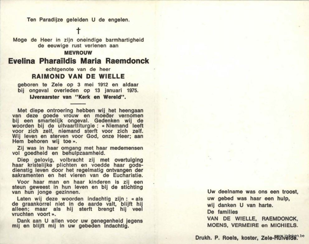 Evelina Pharaildis Maria Raemdonck