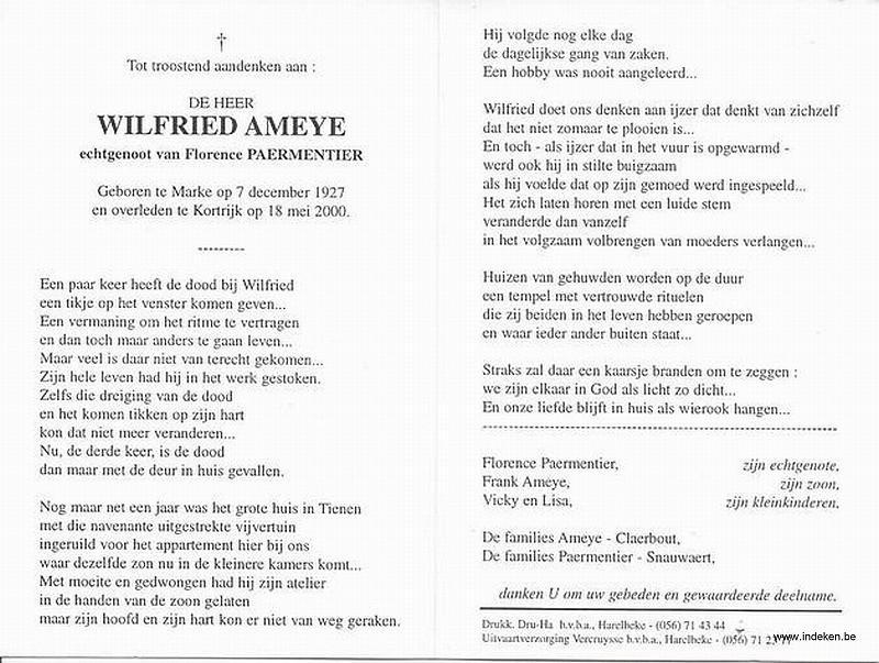 Wilfried Ameye