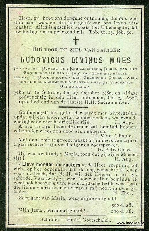 Ludovicus Livinus Maes