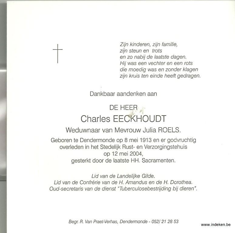 Charles Eeckhoudt