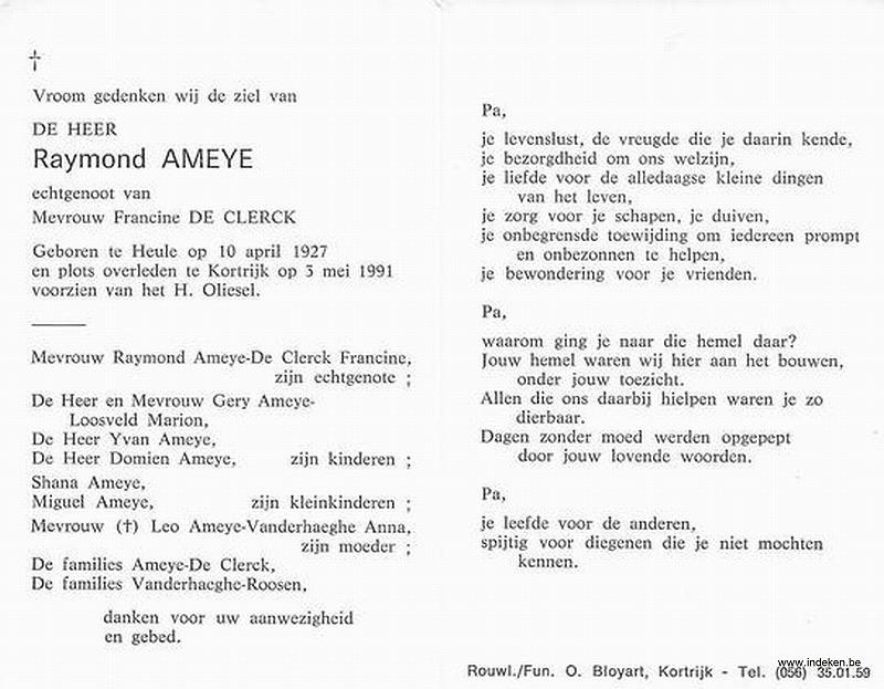 Raymond Ameye