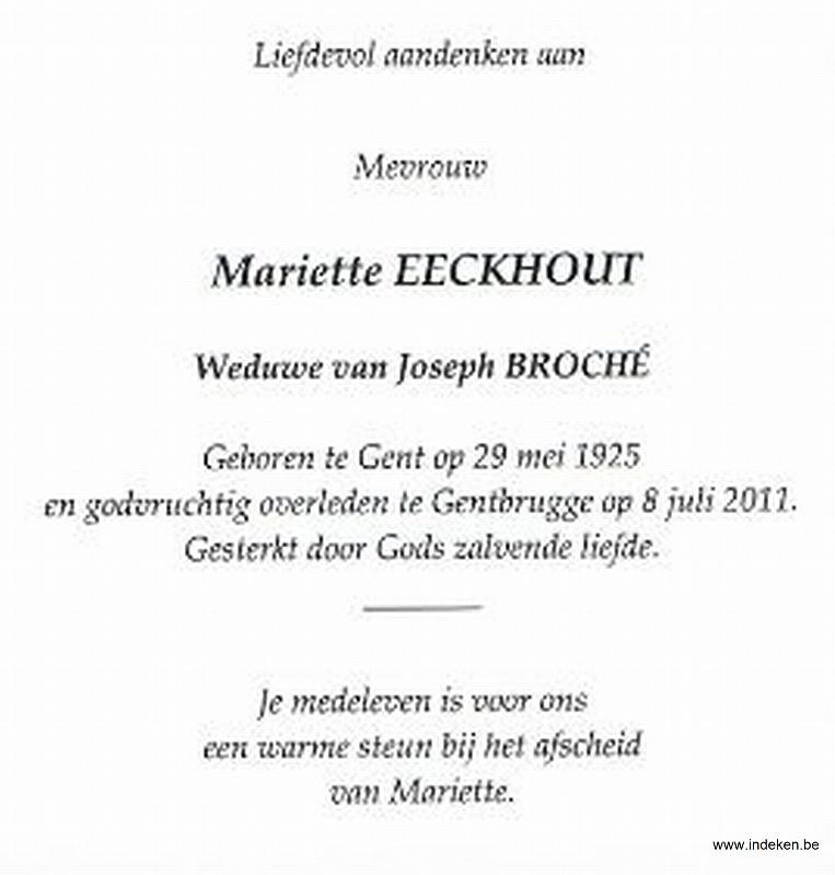 Mariette Eeckhout