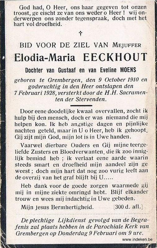 Elodia Maria Eeckhout