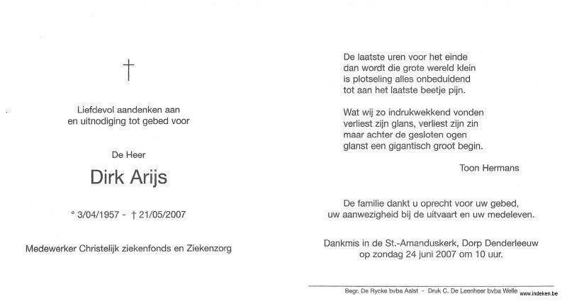 Dirk Arijs
