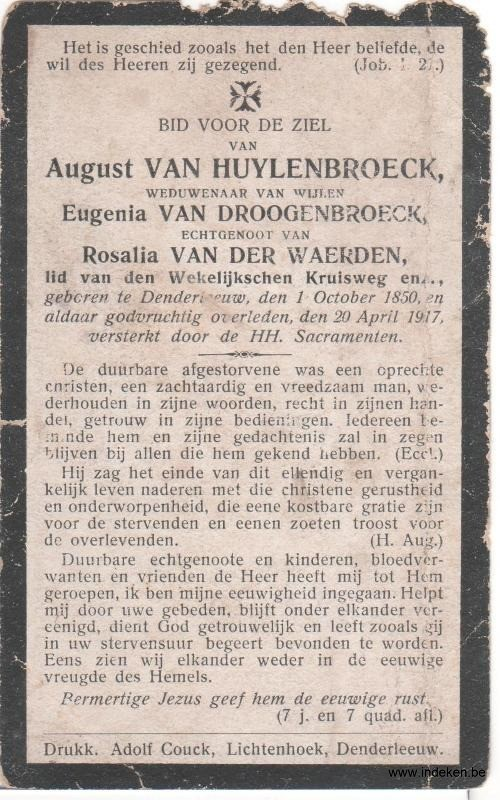 Augustus Van Huylenbroeck