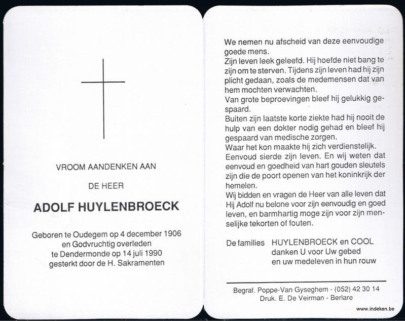Adolf Huylenbroeck