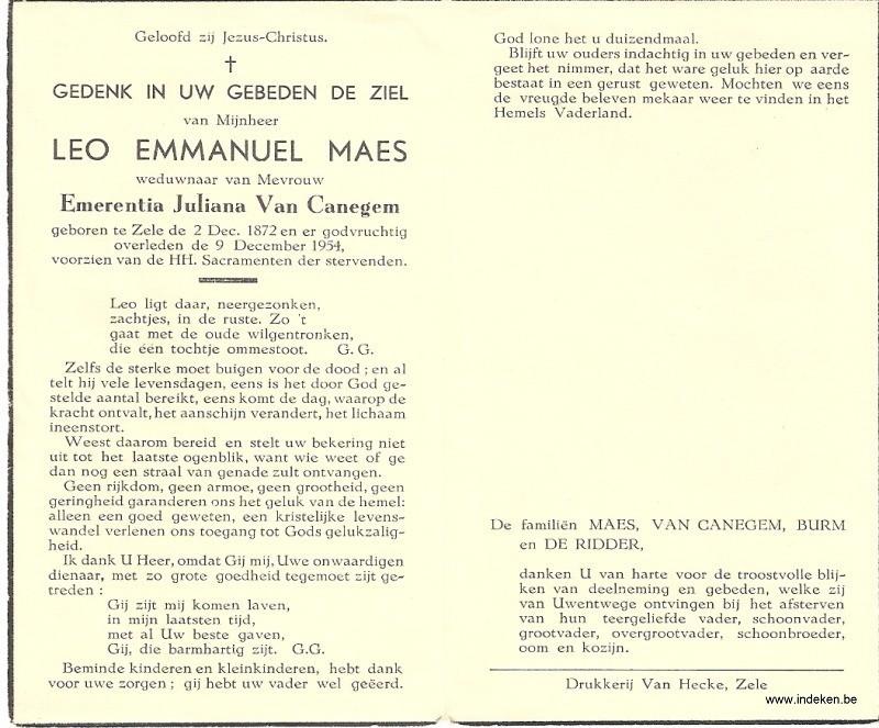 Leo Emmanuel Maes