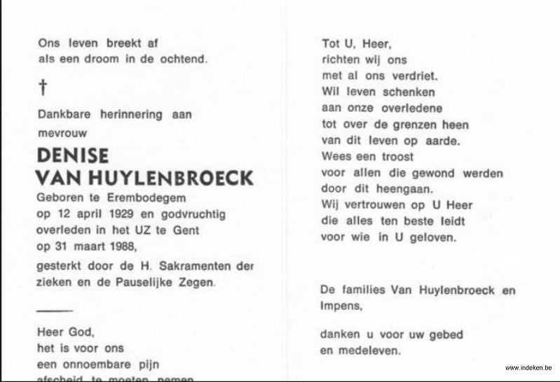 Denise Van Huylenbroeck