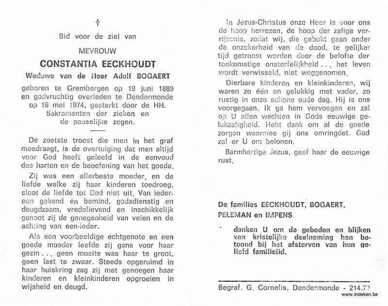 Constantia Eeckhoudt